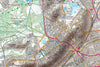 Map Poster - London Ordnance Survey Explorer Map with Hillshading Poster Print- Love Maps On...