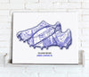 Football Stadium Map - Canvas Print - Love Maps On... - 15