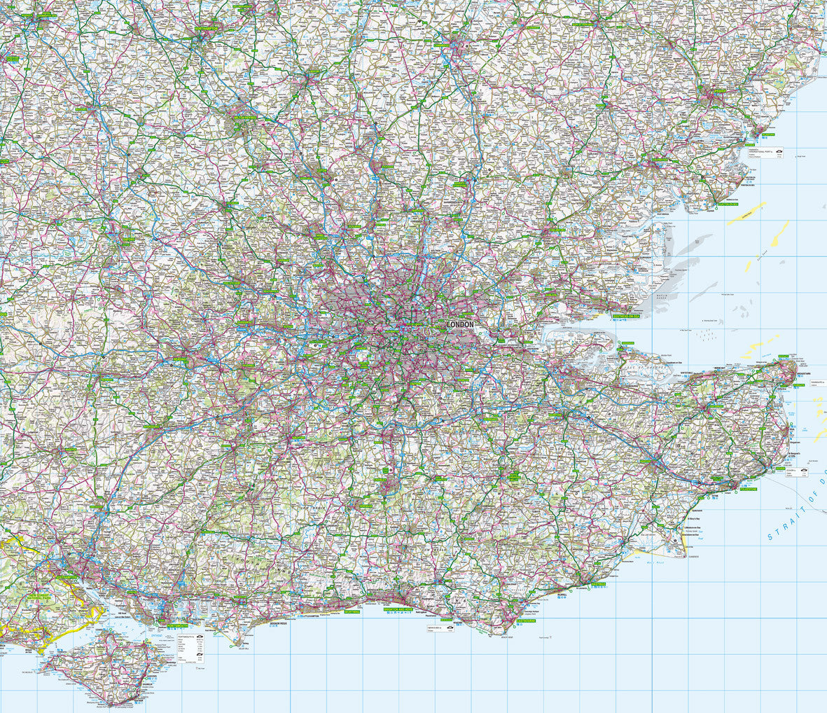 Map Se London.Map Wallpaper London And The Southeast