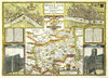 Map Wallpaper - Vintage County Map - Middlesex - Love Maps On... - 3