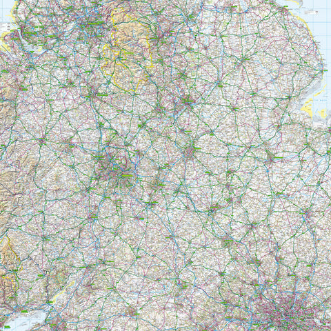 Map Wallpaper  - Midlands