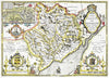 Map Wallpaper - Vintage County Map - Monmouthshire - Love Maps On... - 3