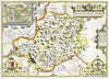 Map Wallpaper - Vintage County Map - Montgomeryshire - Love Maps On... - 3