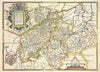 Map Canvas - Vintage County Map - Northamptonshire - Love Maps On... - 4