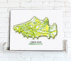 Football Stadium Map - Canvas Print - Love Maps On... - 23