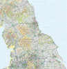 Map Wallpaper  - Northern England - Love Maps On...