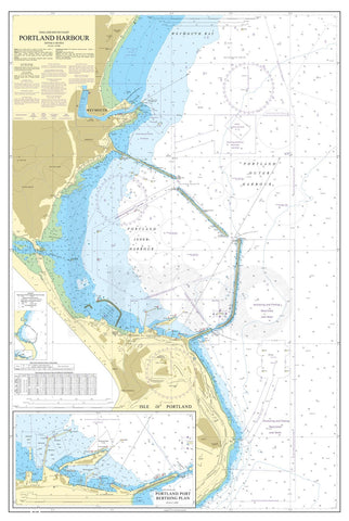 Nautical Chart - Admiralty Chart 2268 - Portland Harbour