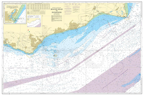Nautical Chart - Admiralty Chart 536 - Beachy Head to Dungeness