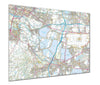 Map Poster - Custom Ordnance Survey Explorer Map - Love Maps On... - 1