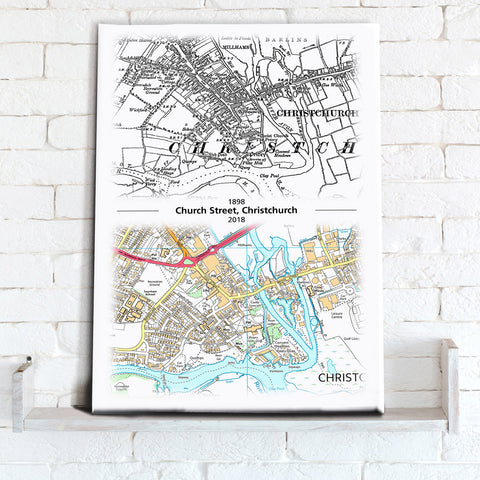 Map Canvas - Past to Present