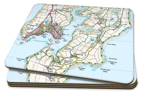 Map Placemats - Personalised Ordnance Survey Explorer Map