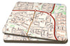 Map Placemats - Personalised Ordnance Survey Street Map - Love Maps On... - 1