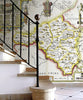 Map Wallpaper - Vintage County Map - Radnorshire - Love Maps On... - 2