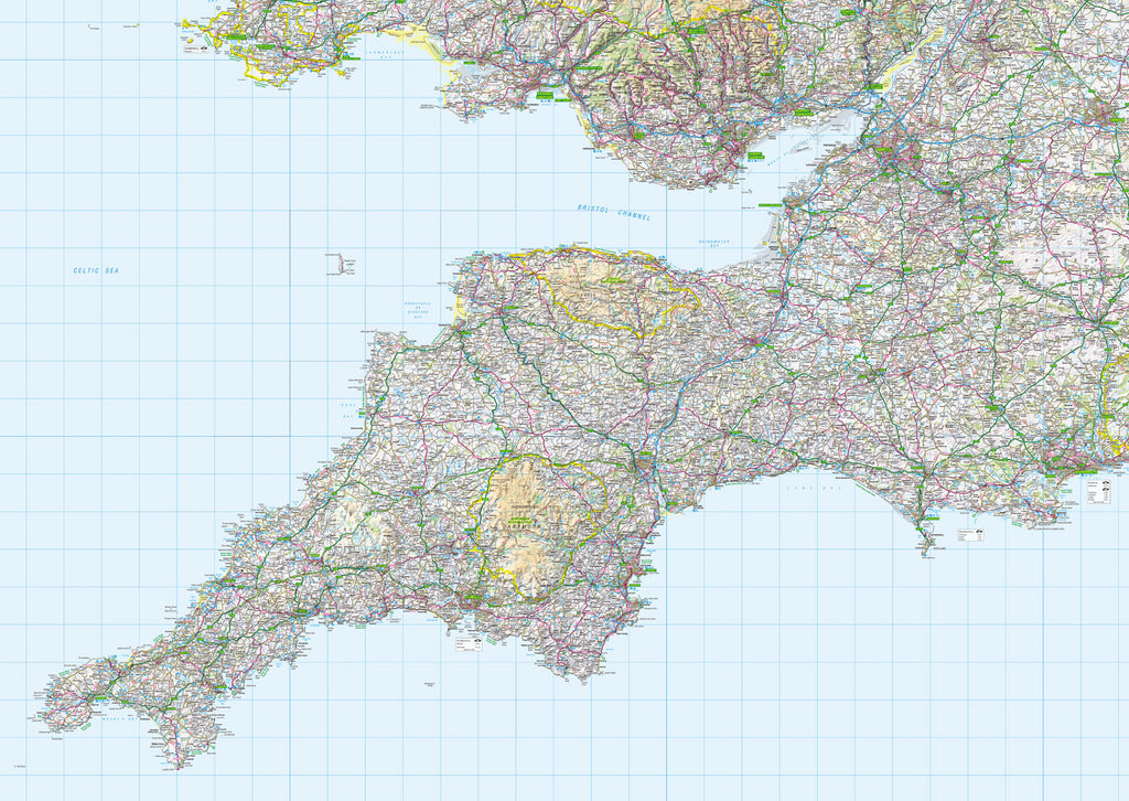 Map Wallpaper  - Southwest England - Love Maps On...