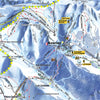 Les Portes du Soleil - Piste Map Canvas Print Canvas Print- Love Maps On...