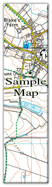 Ceramic Map Tiles - Personalised Ordnance Survey Explorer Map - Love Maps On... - 3