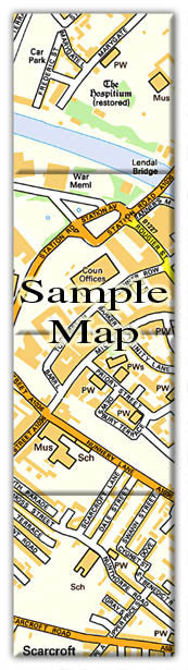 Ceramic Map Tiles - Personalised Ordnance Survey Street Map - Love Maps On... - 3