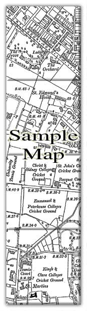 Ceramic Map Tiles - Personalised Vintage Ordnance Survey Victorian Street Map - Love Maps On... - 39