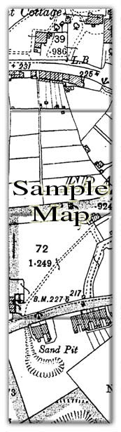 Ceramic Map Tiles - Personalised Vintage Ordnance Survey High Detail Victorian Street Map - Love Maps On... - 2