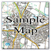 Ceramic Map Tiles - Personalised Ordnance Survey Explorer Map - Love Maps On... - 7