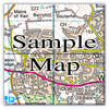 Ceramic Map Tiles - Personalised Ordnance Survey Landranger Map - Love Maps On... - 7