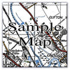 Ceramic Map Tiles - Personalised Vintage Ordnance Survey 1940's (New Popular Series) - Love Maps On... - 7