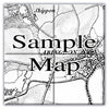 Ceramic Map Tiles - Personalised Vintage Ordnance Survey 1805-1874 (Old Series) - Love Maps On... - 3