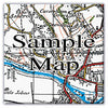 Ceramic Map Tiles - Personalised Vintage Ordnance Survey 1920's (Popular Series) - Love Maps On... - 7