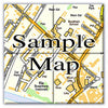 Ceramic Map Tiles - Personalised Ordnance Survey Street Map - Love Maps On... - 7