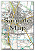 Ceramic Map Tiles - Personalised Ordnance Survey Explorer Map - Love Maps On... - 8