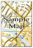 Ceramic Map Tiles - Personalised Ordnance Survey Street Map - Love Maps On... - 8