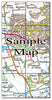 Ceramic Map Tiles - Personalised Ordnance Survey Landranger Map - Love Maps On... - 9