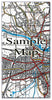 Ceramic Map Tiles - Personalised Vintage Ordnance Survey 1920's (Popular Series) - Love Maps On... - 9