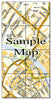 Ceramic Map Tiles - Personalised Ordnance Survey Street Map - Love Maps On... - 9