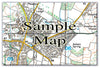 Ceramic Map Tiles - Personalised Ordnance Survey Explorer Map - Love Maps On... - 13
