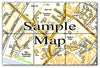 Ceramic Map Tiles - Personalised Ordnance Survey Street Map - Love Maps On... - 13