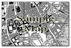 Ceramic Map Tiles - Personalised Vintage Ordnance Survey Victorian Street Map - Love Maps On... - 9