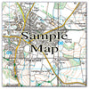 Ceramic Map Tiles - Personalised Ordnance Survey Explorer Map - Love Maps On... - 14