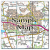 Ceramic Map Tiles - Personalised Ordnance Survey Landranger Map - Love Maps On... - 14