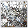 Ceramic Map Tiles - Personalised Vintage Ordnance Survey 1940's (New Popular Series) - Love Maps On... - 14
