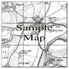 Ceramic Map Tiles - Personalised Vintage Ordnance Survey 1805-1874 (Old Series) - Love Maps On... - 10