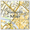 Ceramic Map Tiles - Personalised Ordnance Survey Street Map - Love Maps On... - 14