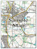 Ceramic Map Tiles - Personalised Ordnance Survey Explorer Map - Love Maps On... - 15