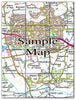 Ceramic Map Tiles - Personalised Ordnance Survey Landranger Map - Love Maps On... - 15