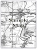 Ceramic Map Tiles - Personalised Vintage Ordnance Survey 1805-1874 (Old Series) - Love Maps On... - 11