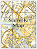 Ceramic Map Tiles - Personalised Ordnance Survey Street Map - Love Maps On... - 15