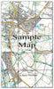 Ceramic Map Tiles - Personalised Ordnance Survey Explorer Map - Love Maps On... - 16