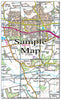 Ceramic Map Tiles - Personalised Ordnance Survey Landranger Map - Love Maps On... - 16