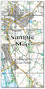 Ceramic Map Tiles - Personalised Ordnance Survey Explorer Map - Love Maps On... - 17