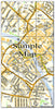 Ceramic Map Tiles - Personalised Ordnance Survey Street Map - Love Maps On... - 17